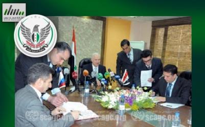 الحكومة المؤقتة تعتبر الاتفاقية بين الأسد وروسيا للتنقيب عن النفط خطوة نحو التقسيم