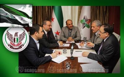 إجتماعات مع رئيس الائتلاف واتفاق بإستقالة مصطفى و ادريس